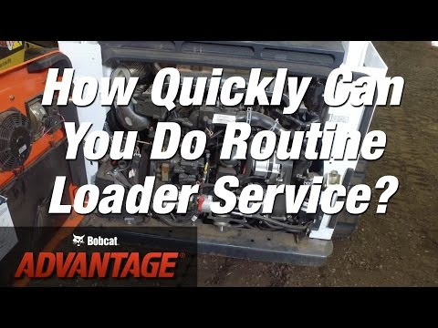 Faster Maintenance: Bobcat vs. Other Loader Brands