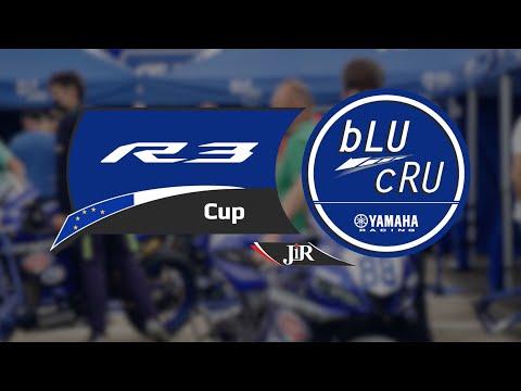 This is the 2021 Yamaha R3 bLU cRU European Cup!