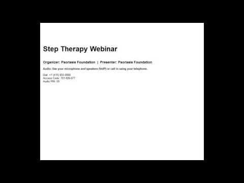 2016 09 29 10 31 Step Therapy Webinar