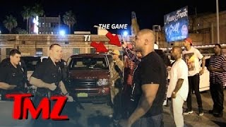 Game and T.I. In INTENSE Standoff With LAPD After Fight   TMZ