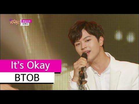 [HOT] BTOB - It's Okay, 비투비 - 괜찮아요, Show Music core 20150711