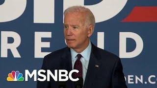 Joe Biden Calls Out Donald Trump For Lack Of 'Moral Leadership' | Deadline | MSNBC