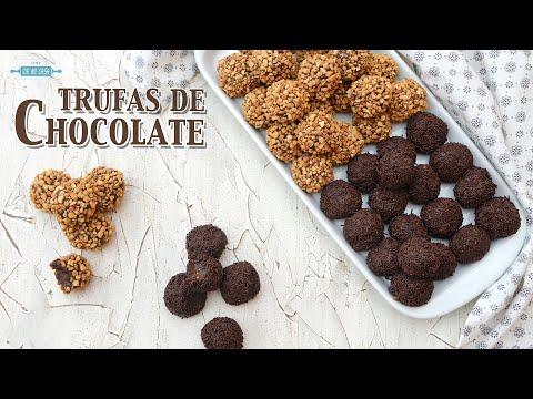 Trufas de Chocolate Caseras ? Receta Fácil, Barata y Sin Horno ? ¡Ideales para el Día de la MADRE!