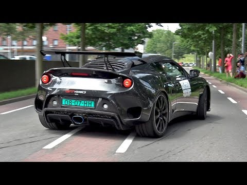 Lotus Evora GT430 Sport – Exhaust Sounds!