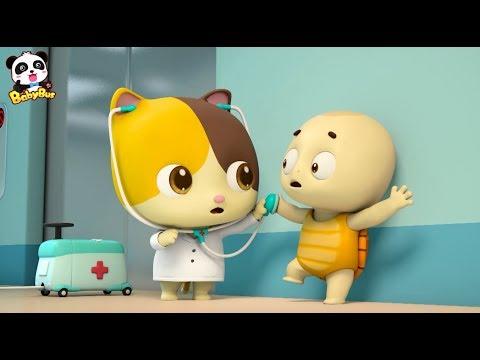 최신병원놀이 동화|고양이 의사가 진찰나왔어요|안전건강교육동화 |생활습관동요|베이비버스 동요동화|BabyBus