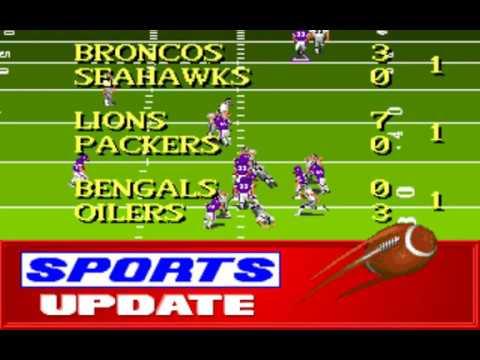 NFL Football (Week 15: Raiders - Vikings) (Distinctive Software) (MS-DOS) [1992] [PC Longplay]