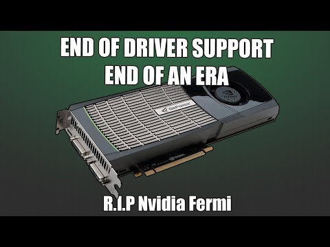 It's Over - R.I.P Nvidia Fermi Graphics Cards Support