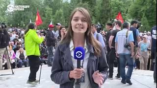 Протест экс-президента АЗИЯ