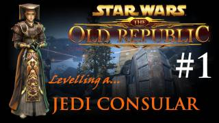 Star Wars the Old Republic - ► Jedi Consular Levelling Part 1 (SWTOR) | Character Creation