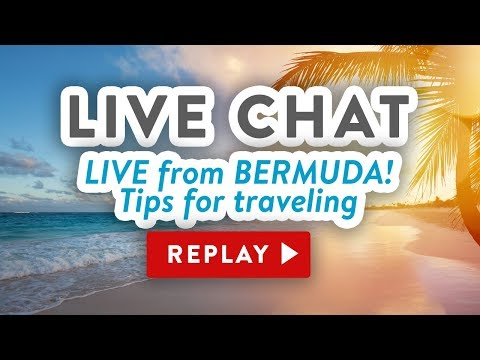 LIVE CHAT REPLAY from Bermuda - Tips for traveling with craft supplies
