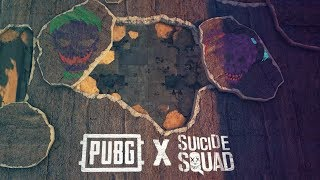 PUBG - New Skins: Suicide Squad (Joker and Harley Quinn)