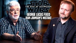 George Lucas Fixed Rian Johnson's Mistake! The Rise Of Skywalker (Star Wars Episode 9)