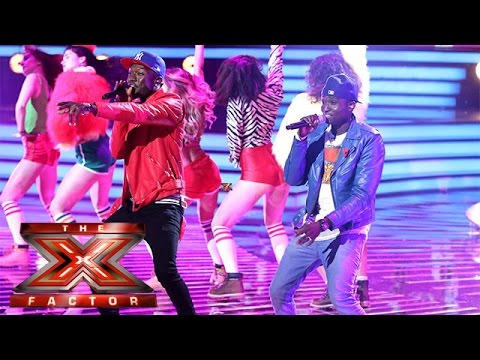 Reggie 'N' Bollie cover Shaggy's It Wasn't Me | Live Week 1 | The X Factor 2015