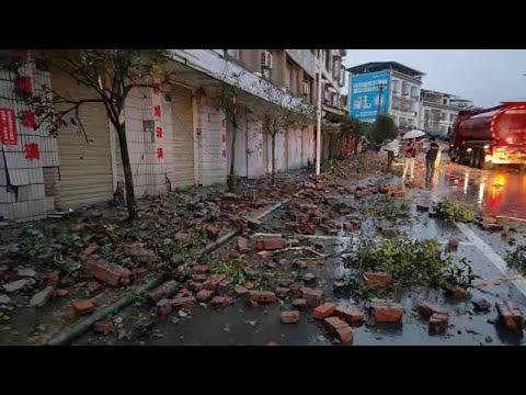 Live: 6.0-magnitude earthquake jolts SW China's Sichuan