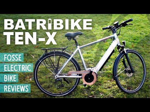 E-Bike Review: BATRIBIKE TEN-X -  off-road electric mountain bike UK