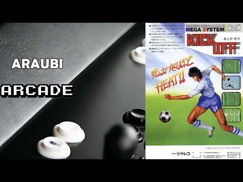 Kick Off (Jaleco, 1988) Arcade [077] Walkthrough Comentado