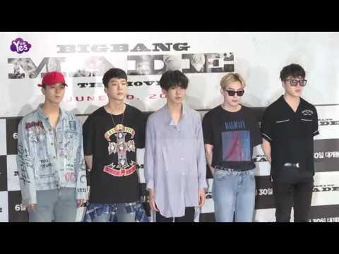 BIGBANG全員紀錄片《MADE》試映會 權志龍變禁欲系男神亮相