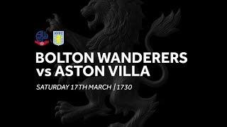 Bolton Wanderers 1-0 Aston Villa | Extended highlights