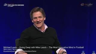 SSAC19: Michael Lewis - Going Deep - The Most Innovative Mind in Football