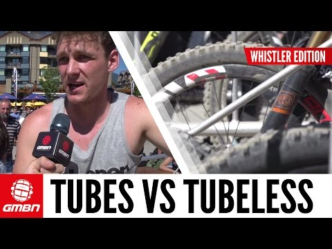 Tubes vs Tubeless | Whistler Lift Line Poll