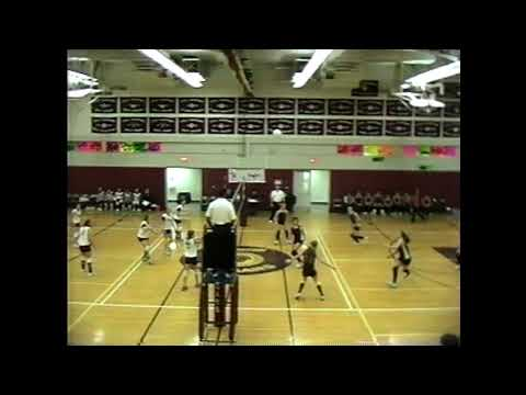 NCCS - Plattsburgh JV Volleyball  1-9-04