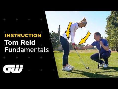 Setup Fundamentals That Every Golfer Should Know! | Tom Reid Golf Tips | Golfing World