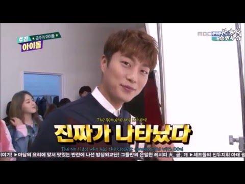 [ENG SUB] 160224 Weekly Idol AOA Cream w/ MC Dujun Part 1/3