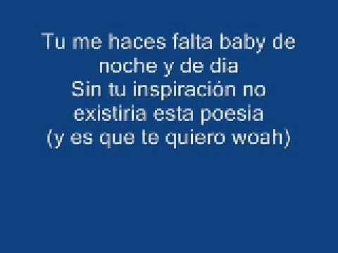 baby te quiero video lyrics