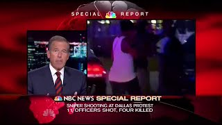 NBC Special Report: Dallas Police Shooting (1:00am - July 8, 2016)