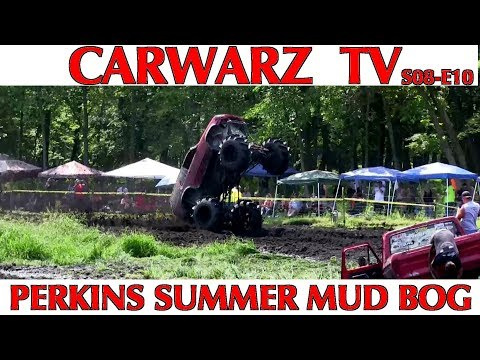 CARWARZ TV - S8E10 - Perkins Summer Mud Bog 2018 - Part 02