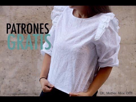Patrones gratis blusa para mujer (patrones gratis)