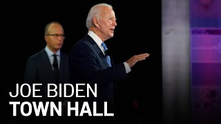 Joe Biden Answers Questions From Voters in Town Hall