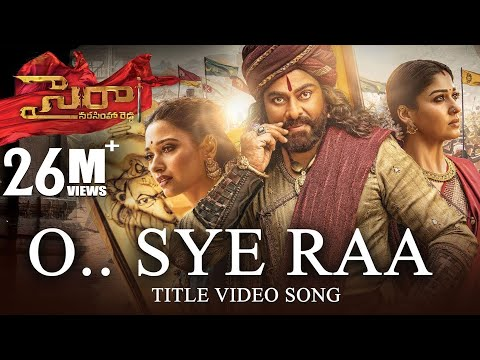 O-Sye-Raa-Video-Song--Telugu----Chiranjeevi