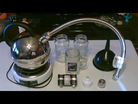 """DIY Water Distiller! - The """"Stainless Steel"""" Stove-top Water Distiller! - Easy DIY"""