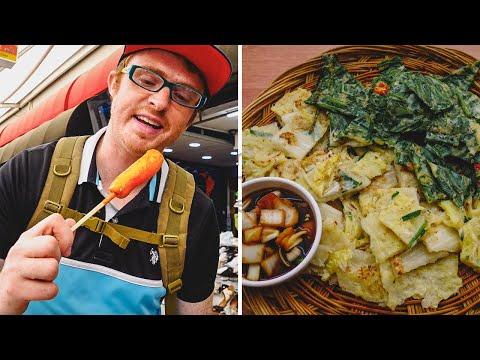 Korean Street Food Tour at Seomun Market (서문시장) in Daegu, Korea