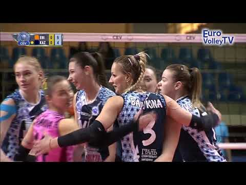 #CLVolleyW - Dinamo KAZAN get lucky early on against Eczacibasi VitrA ISTANBUL