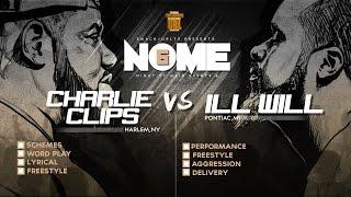 CHARLIE CLIPS VS ILL WILL SMACK/ URL RAP BATTLE | URLTV