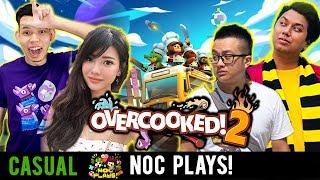 NOC Plays Overcooked 2! ft. Aurelia, Ryan & Dee