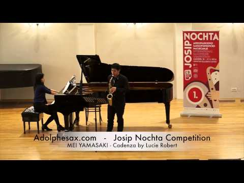 JOSIP NOCHTA COMPETITION MEI YAMASAKI Cadenza by Lucie Robert