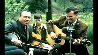 "Doc Watson & Earl Scruggs ""Having Fun"" At Home"