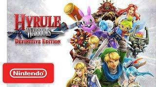 Hyrule Warriors: Definitive Edition Launch Trailer - Nintendo Switch