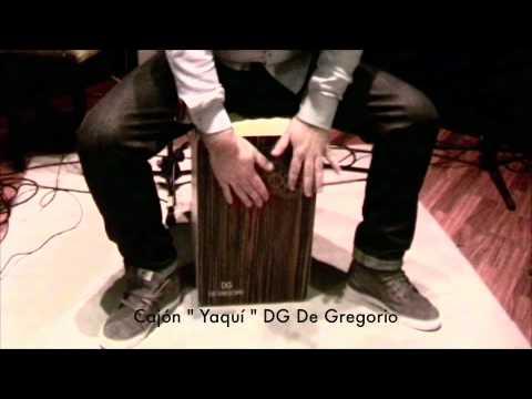 De Gregorio DG De Gregorio Cajon - Yaqui - Rosewood Finish