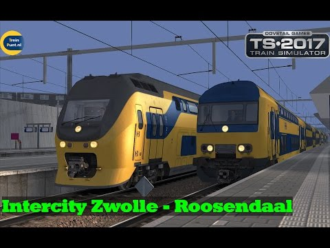 Intercity Zwolle - Roosendaal | NS DDZ | Train Simulator 2017