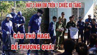 Tuấn Anh, Văn Toàn hát cực vui cùng các chiến sĩ bộ đội trên đỉnh núi Gia Lai   HAGL Media