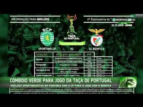 Comboio Verde - Parceria Comboios de Portugal (CP) - Sporting TV (14/11/2015)
