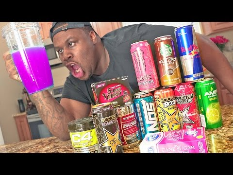 MIXING EVERY ENERGY DRINK TOGETHER! - TASTE TEST