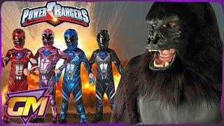 POWER RANGERS Vs KING KONG (Skull Island) - Scary Kids Parody | Gorgeous Movies