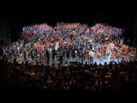 Visionen om ett läger med musik och andra konstarter för 30.000 barn i Göteborg 2021
