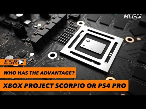 PS4 Pro vs  XBOX Project Scorpio