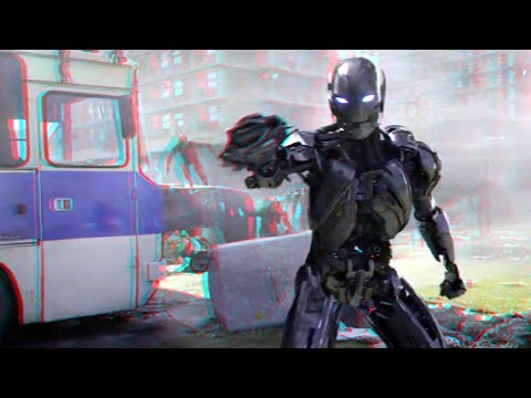 Avengers : Age of Ultron - Clip (2015)(3D)(Side By Side) Fit technology